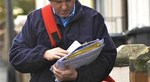 Under the plans, parcels or post which needs to be signed for will be left with a neighbour if the person is not at home