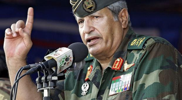 The death of General Abdel Fattah Younes is 'a nice slap to the face' for the UK, Tripoli officials say (AP)