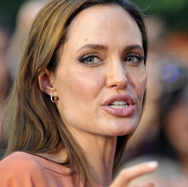 Angelina Jolie arrives for the final night of the 17th Sarajevo film festival in Sarajevo, Bosnia (AP)