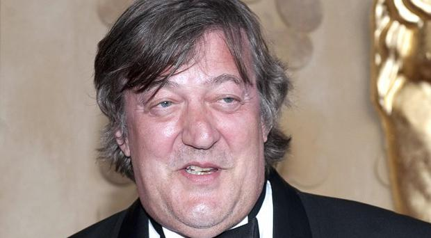 Broadcaster and writer Stephen Fry has been voted the most popular person to have a pint with at a beer festival