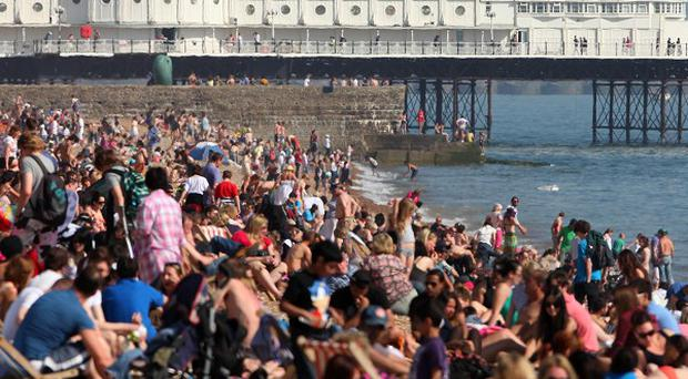 Forecasters have predicted a mini-heatwave for the beginning of August