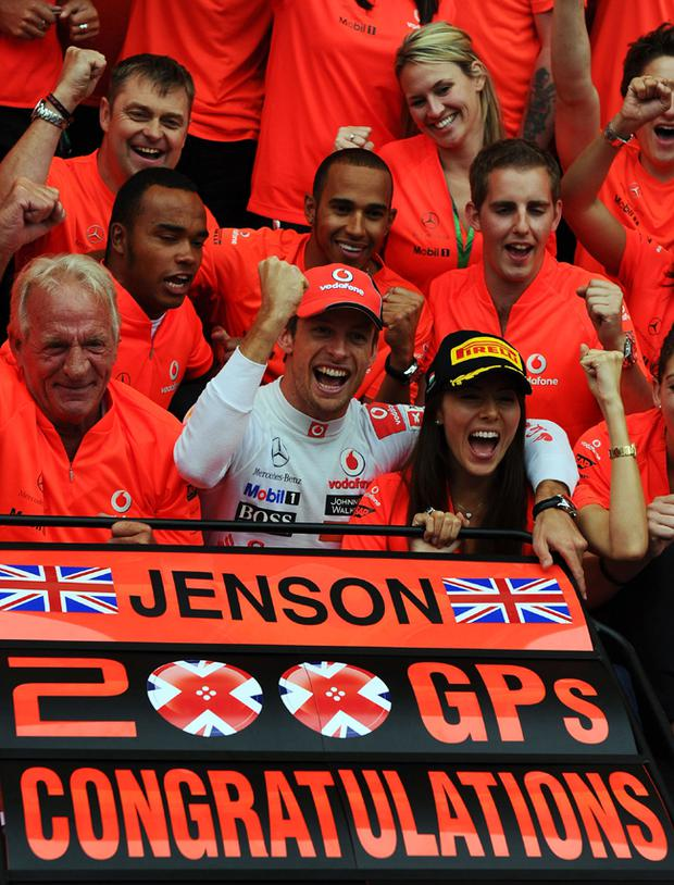 Jenson Button won the Hungarian Grand Prix