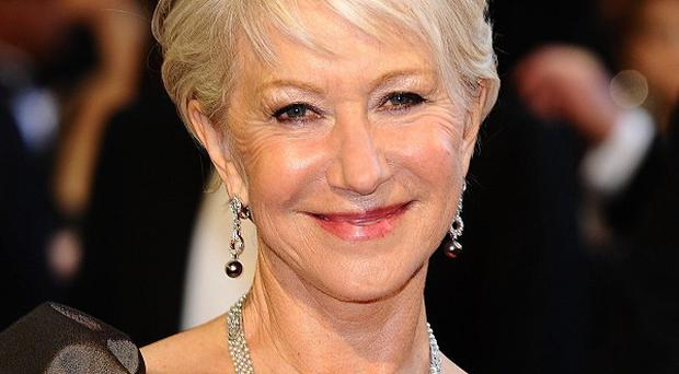 Fitness fanatics have voted Dame Helen Mirren the Body of the Year