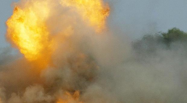 A Vietnam War-era artillery shell has exploded, killing three farmers in central Vietnam (AP)