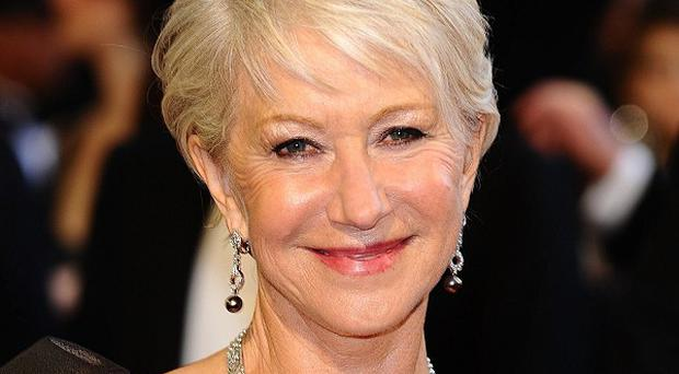 Dame Helen Mirren has been voted Body of the Year
