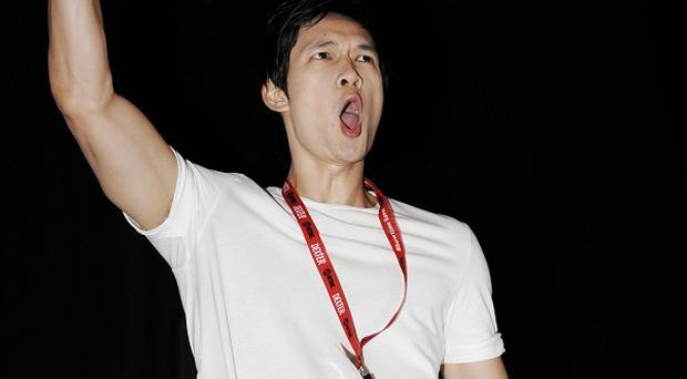 Harry Shum Jr has been taking singing lessons and would like to show off his vocal talents in Glee
