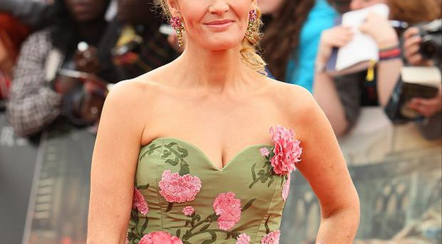 JK Rowling said she had no regrets about taking part in the show