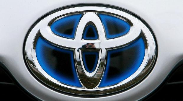 Toyota posted an 8.7 million pounds profit in the last quarter