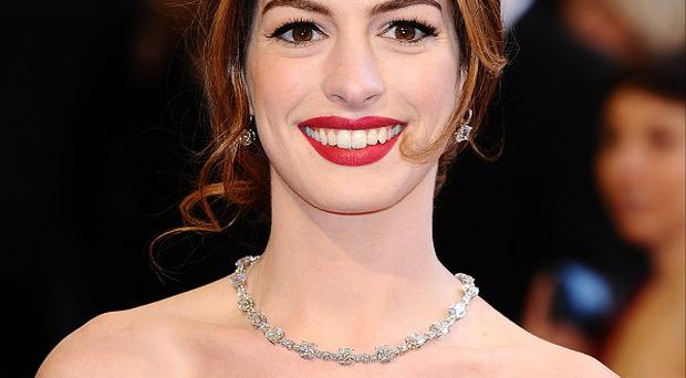 Anne Hathaway wasn't expecting to fall in love again so quickly