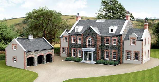 Luxury houses buyer frenzy in northern ireland price for Luxury homes for sale ireland