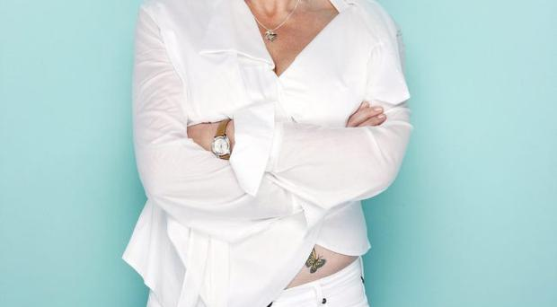Painted lady: Fern Britton recently got a tattoo of two butterflies