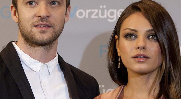 Mila Kunis and Justin Timberlake have been promoting their film Friends With Benefits