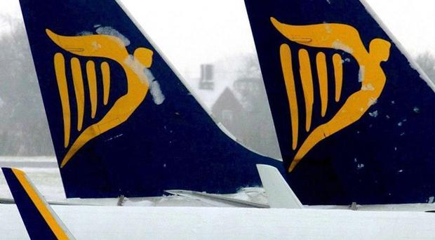 Ryanair broke through the eight million passenger mark last month for the first time