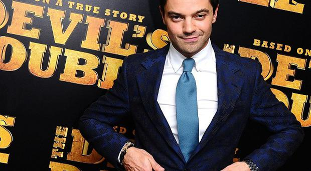 Dominic Cooper arrives at the premiere of The Devil's Double at the Vue Cinema in London