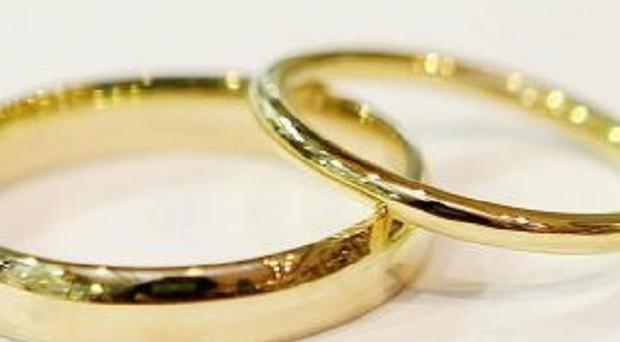 Police in Armagh swooped to interrupt the suspected bogus wedding between a Pakistani man and Latvian woman