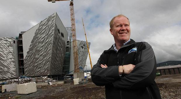 Noel Molloy, project director at Harcourt Construction which is overseeing the construction of Titanic Belfast