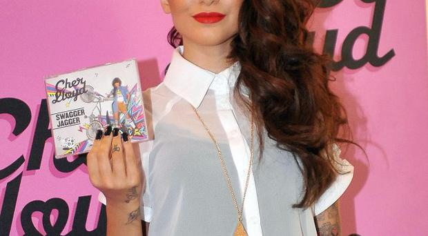 Cher Lloyd looks on course to be number one in the singles chart