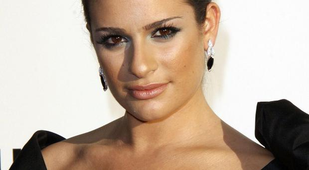 Lea Michele resisted suggestions that she get a nose job