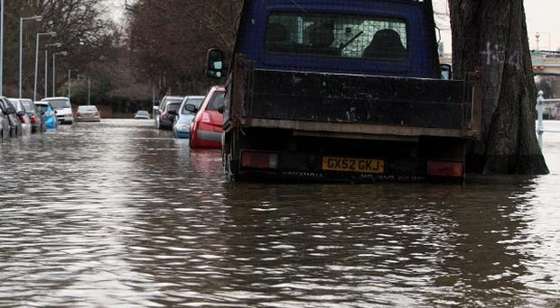 Flash floods have deluged parts of East Yorkshire