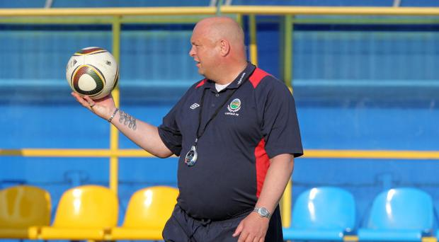 Linfield boss David Jeffrey relishes the challenge at Windsor Park, despite the constant pressure to win silverware
