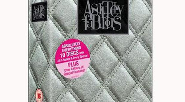 <b>1. Absolutely Fabulous: Absolutely Everything</b><br/> Our favourite fashionistas, Edina and Patsy, make their drink-addled way through the world of high fashion, indulging in just about every fad - and quite a quantity of drugs - on the way. <b>Price:</b> £29.99, dresscircle.co.uk
