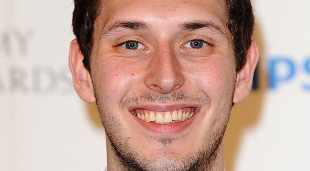 Blake Harrison filmed an intimate scene with a woman in protective underwear