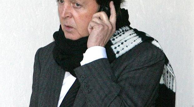 Sir Paul McCartney said he would contact police over claims his voicemail messages were intercepted