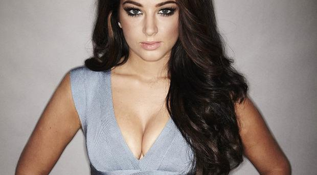 Tulisa Contostavlos has shown off a glam new look