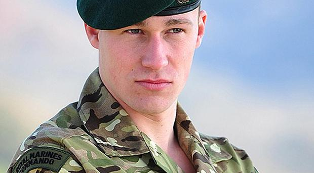 Marine James Wright, from Weymouth, Dorset, who has been named as the Royal Marine killed in Afghanistan