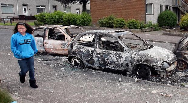 A man will appear in court in connection with riots in Ballyclare last month