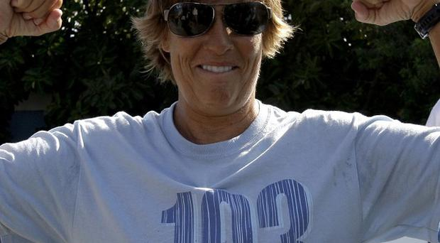 Swimmer Diana Nyad, 61,announces her 103-mile crossing between Cuba and Key West in Florida (AP)
