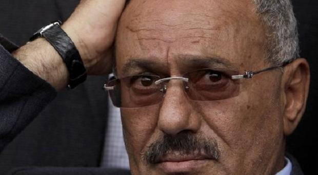 Yemeni president Ali Abdullah Saleh has left hospital in Saudi Arabia after being seriously wounded in an attack two months ago (AP)