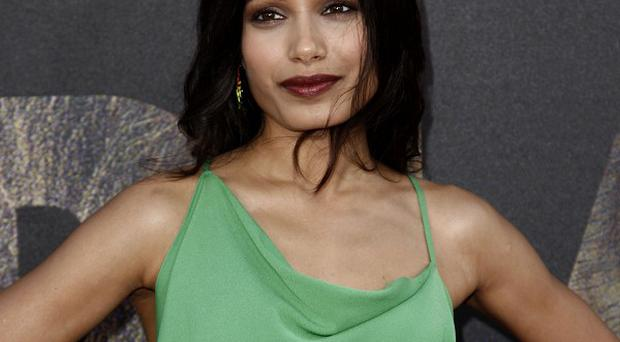 Freida Pinto praised co-star James Franco
