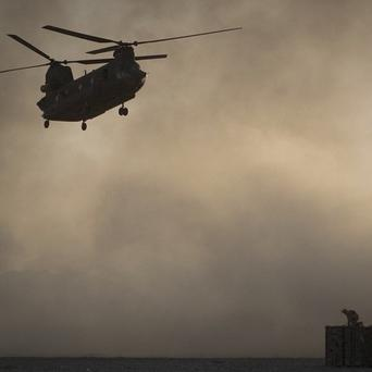 Chinook helicopters are a vital part of the war in Afghanistan, but two have come down within days of each other(AP)