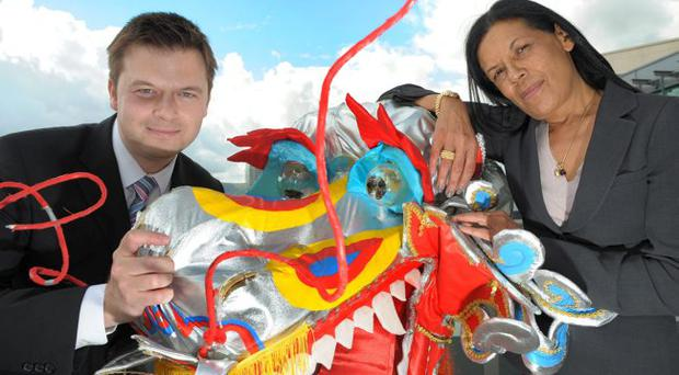 Philip Bain from ShredBank goes head to head with Prince's Trust Dragon Anna Moss from Citi.