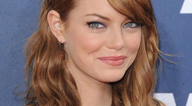 Emma Stone plays Gwen Stacy in the new film