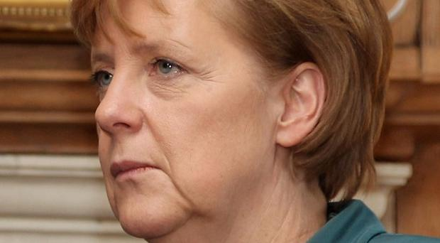 Exports are paying off for German Chancellor Angela Merkel