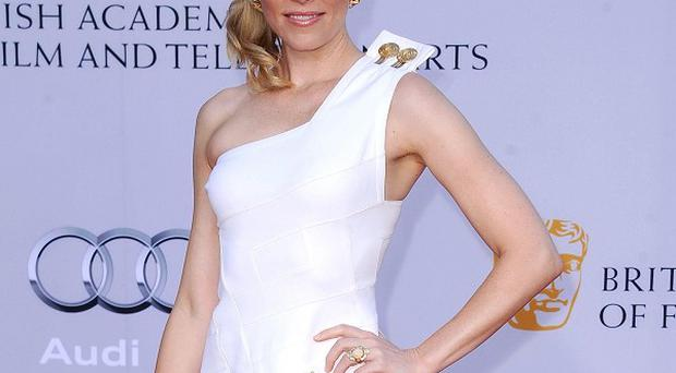 Elizabeth Banks is promoting her new film Our Idiot Brother