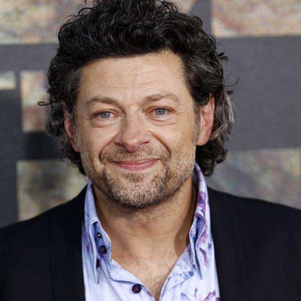 Andy Serkis stars in Rise Of The Planet Of The Apes