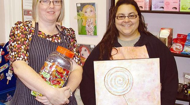 Emma Dunn and Jolie Dennison are reaping the rewards of a symbolic relationship in shared premises