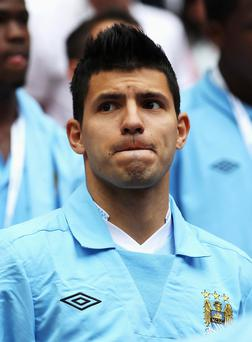 The signing of Sergio Aguero, an outstanding acquisition, could title Premiership balance away from Manchester United to rivals City