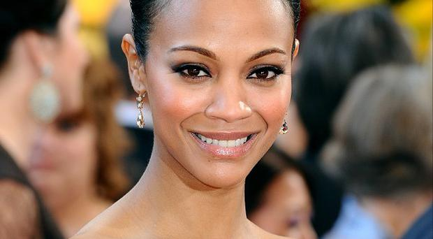 Zoe Saldana now takes time out to relax at home