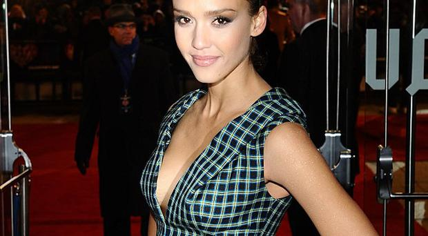 Jessica Alba loved getting back into action