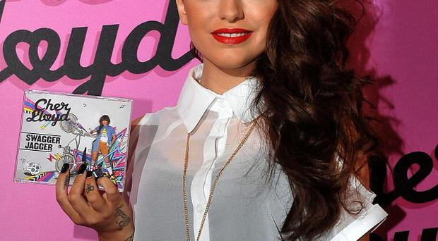 Cher Lloyd has stormed to the top of the singles chart with her debut release Swagger Jagger