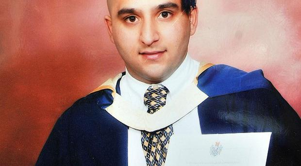 Shazad Ali who died after he and two others were mowed down by a car while protecting their community from looters in Birmingham