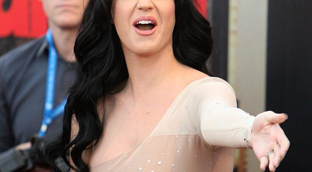Katy Perry voiced a character in The Smurfs film