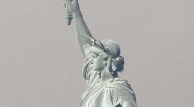 The Statue of Liberty is to close for a year as it undergoes renovation work (AP)