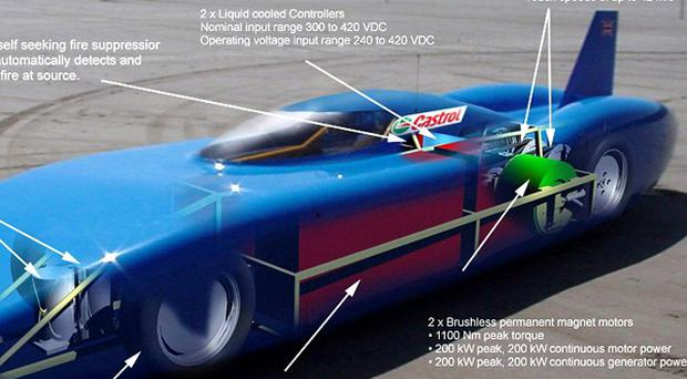 Don Wales and his Bluebird team will attempt to break the 137mph barrier