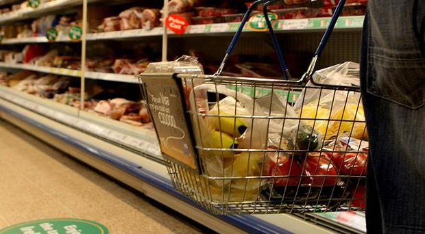Shoppers are using sales to shop for discounts on necessities instead of splashing out on luxuries, a report shows