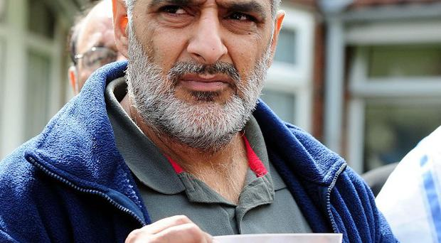Tariq Jahan's son Haroon died after being knocked down by a car in Birmingham